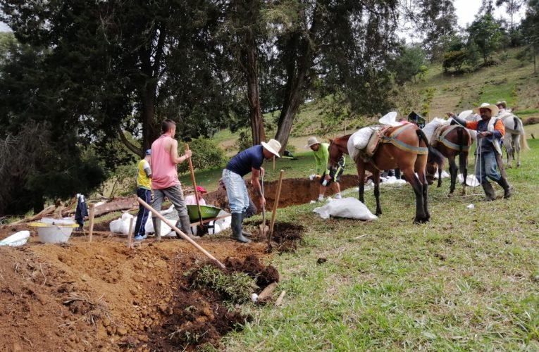 En Guática un sueño a lomo de mula