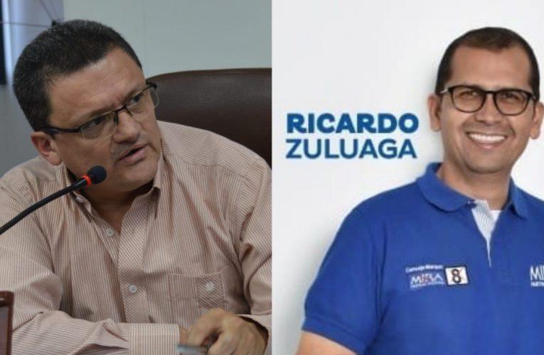 Ricardo Zuluaga reemplaza a César García en el Concejo de Dosquebradas