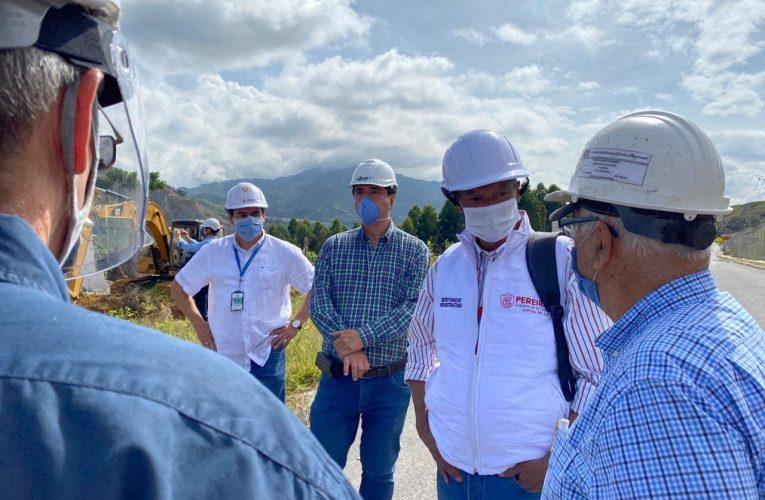 Integrantes de la Sociedad de Ingenieros de Risaralda apoyan estrategias de mitigación en Portal de La Villa