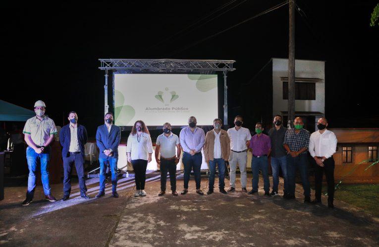 Alumbrado público de Santa Rosa de Cabal vuelve a ser público