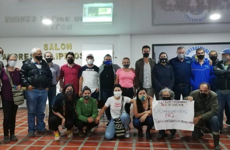 Constituyen en Santa Rosa Comité Cívico Regional guardianes del agua de la cuenca del Campoalegre
