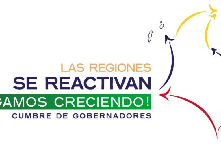 """""""Las Regiones se Reactivan, Sigamos Creciendo"""", tema en la Cumbre de Gobernadores"""
