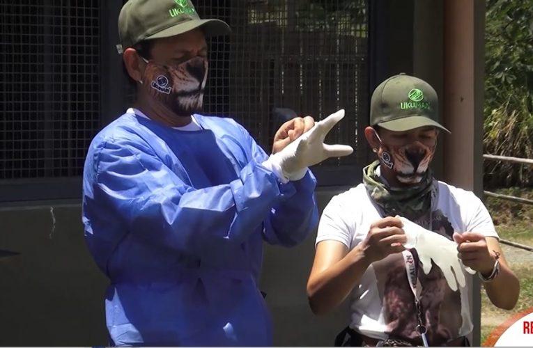 Representante Juan Carlos Reinales se le midió a ser cuidador por un día en Ukumarí