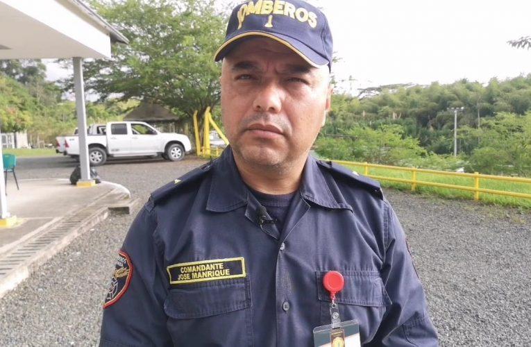 Manrique, el bombero risaraldense llamado a atender emergencia del Huracán Iota en San Andrés y Providencia
