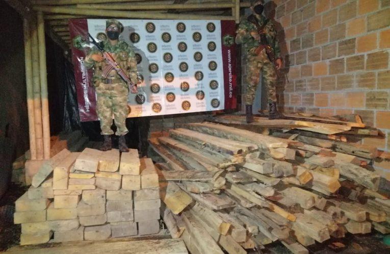 Duro golpe de la Cárder a deforestadores que estaban atentando contra reserva natural en Apía